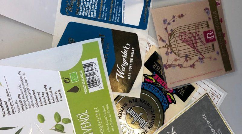 Etiketten für Getränke und Lebensmittel, die Etikett.de mit Digitaldruck herstellt