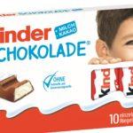 Neues Gesicht auf der Kinder-Schokolade-Verpackung