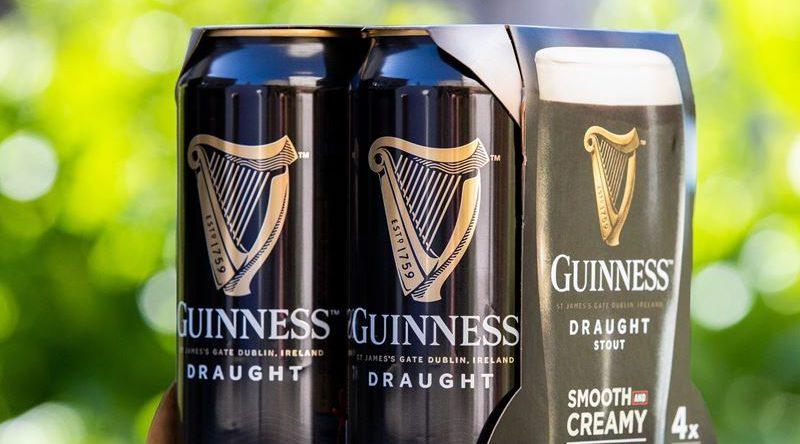 Guiness will nachhaltigere Getränkeverpackung einführen