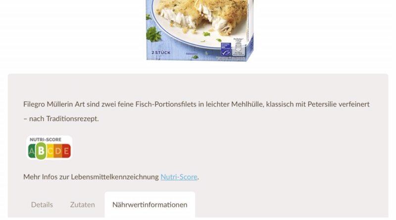Iglo will Nutri-Score-Werte auf der Verpackung zeigen, Quelle: obs/iglo Deutschland