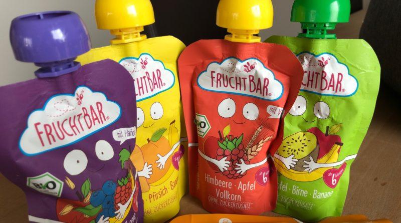 Quetschbeutel von FruchtBar können zu Upcyclung-Produkten hergestellt werden. Die Verpackung kann an den Hersteller zurückgeschickt werden