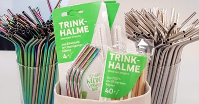 Trinkhalme aus Edelstahl statt aus Plastik: Rewe führt Alternativen ein packaging