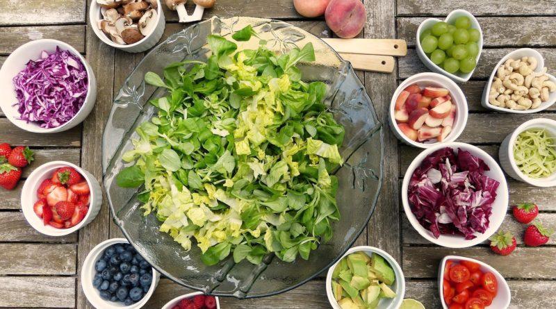 Salat ohne Plastikverpackung