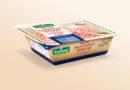 Ground meat in cardboard packaging
