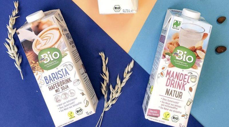 Bio-Trendgetränke von dm in neuer Verpackung, auf Instagram gepostet, packaging