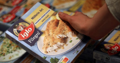 """iglo setzt auf bewusste Ernährung. """"obs/iglo Deutschland"""""""