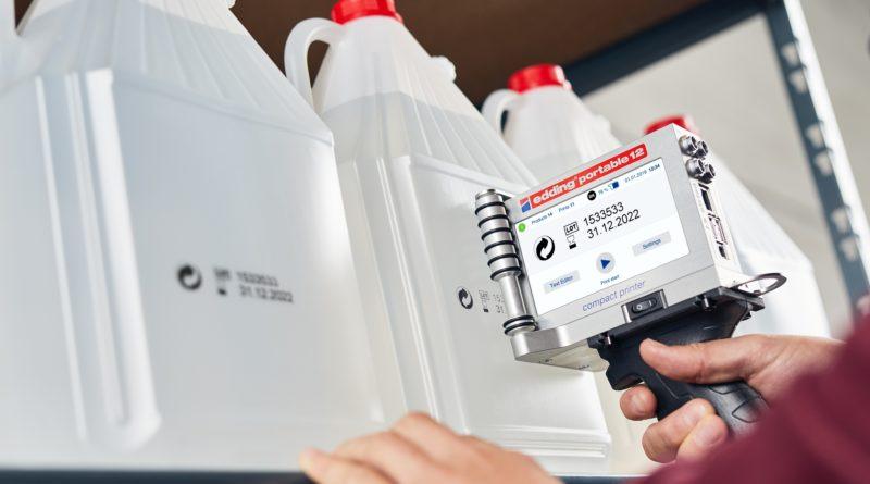 Edding entwickelt Drucker und Kennzeichnungssysteme