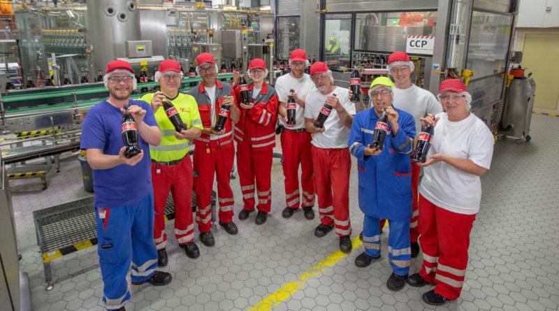 Coca-Cola startet die Produktion der 1-Liter-Glasflasche