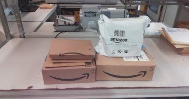 Rücksendung ohne Verpackung und Etikett