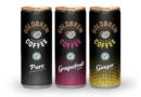 Frothy coffee in a can