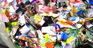 Folienabfall circular packaging