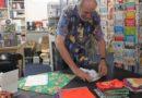 Furoshikis als Bücherverpackung