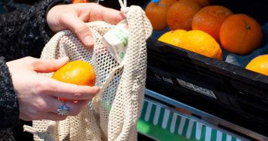 Penny führt eine Beuteltasche aus Baumwolle für Obst und Gemüse ein