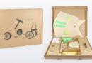 Polsterverpackung schützt Spielzeugautos