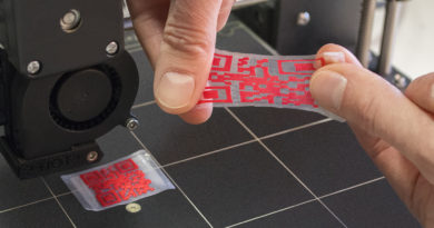 New process for the production of QR codes