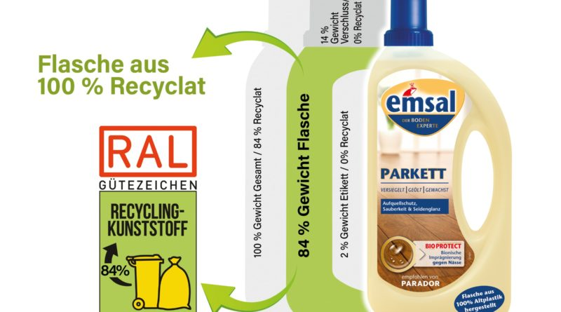 Ral--Gütezeichen für echtes Altplastik