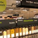 Unverpackte Lebensmittel im Tegut-Markt