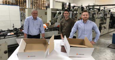 DS Smith stellt für Zalando Versandverpackung um