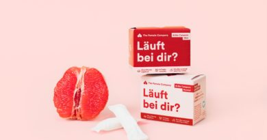 The Female Company verkauft über dm Tampons in Papierverpackung