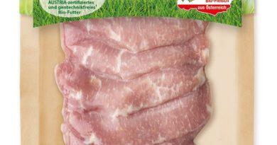SPAR verpackt in Österreich Fleisch in Kartonschalen