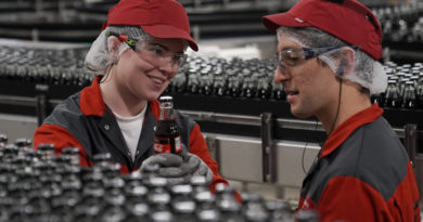 Neue Produktionslinie in Mannheim coca-cola