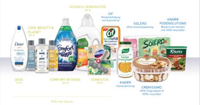Unilever wants to reduce plastics radically