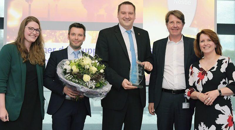 DS Smith erhält Lieferanten-Award von Nestle, packaging360°