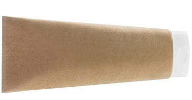 l'oreal: tube aus papier
