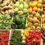 Lebensmittelverluste vor Verkauf