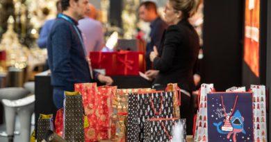 Auf der Christmasworld wurden auch die Verpackungstrends für Weihnachten präsentiert