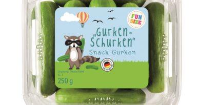 Snacks für Kinder bei Lidl in entsprechender Verpackung