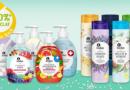 Kosmetikflaschen aus Rezyklat der Eigenmarke von Rewe