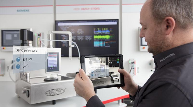 Mockups bieten die Möglichkeit einer Ergonomieuntersuchung an der virtuellen Maschine