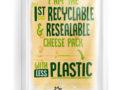 Recycelbare und wiederverschließbare Käseverpackung