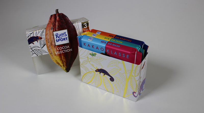 Neue ritter-sport-verpackung bei duty-free