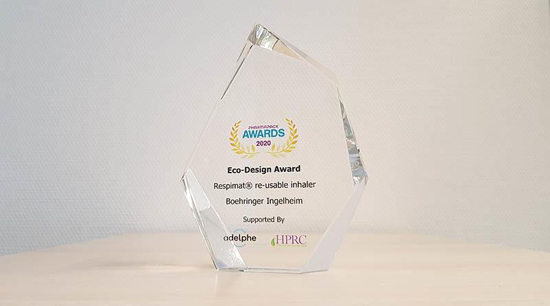 Inhalator von Boehringer Ingelheim gewinnt Eco Design Award 2020