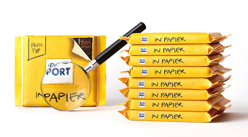 Schokolade in Papier ist attraktiv – aber noch nicht marktreif