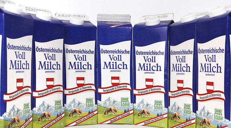 Österreichs ökologischste Milchverpackung ist der Getränkekarton