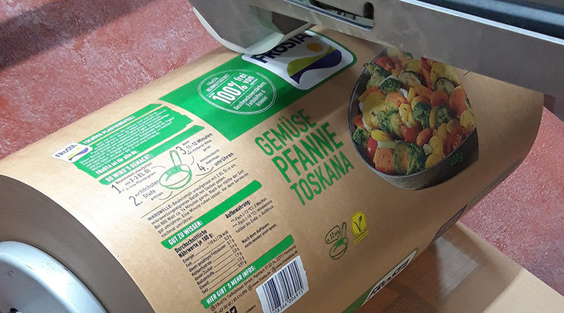 Trend towards paper packaging has arrived in the frozen food industry