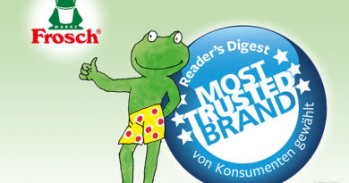 Trust in the Frosch brand is greater than ever