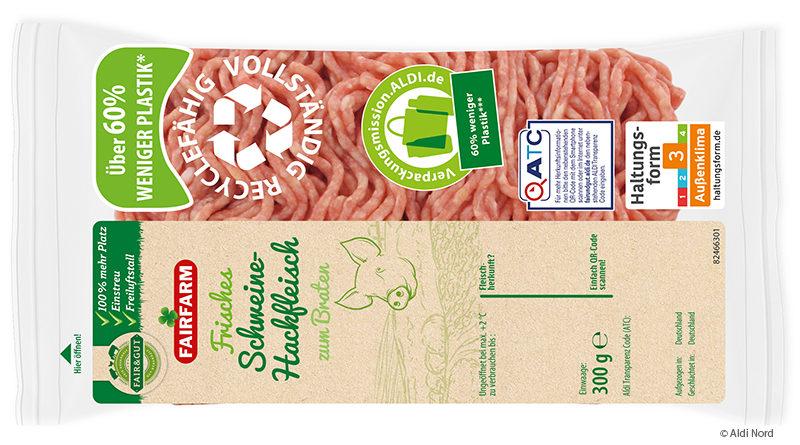 Aldi Nord bringt Frischfleisch im innovativen Flow Pack