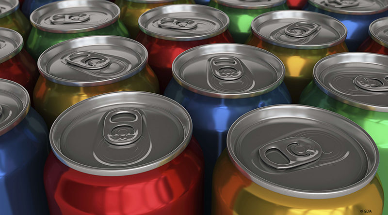 Beverage cans are popular, but are considered to be difficult to recycle