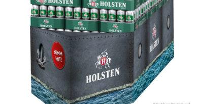 Holsten boosts beer sales with new display