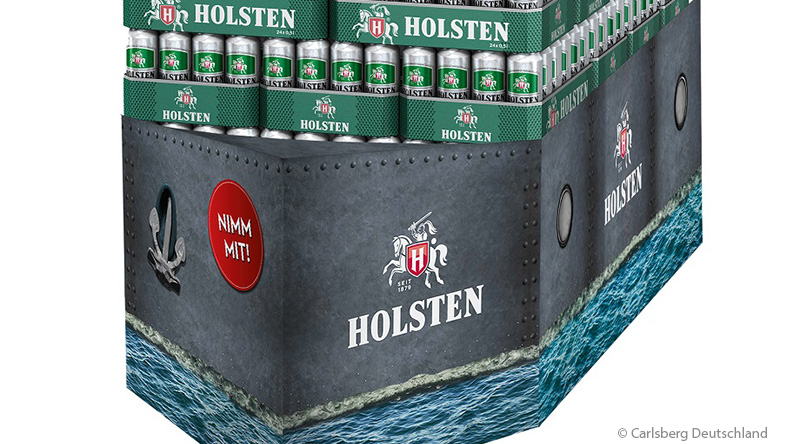 Holsten boosts beer sales with new display