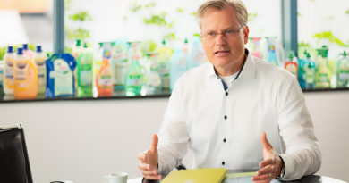 Werner & Mertz Chef Reinhard Schneider fordert Umweltstandards nicht zurückzusetzen