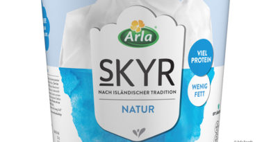 Arla Foods reduces plastics content at Skyr by 40 percent