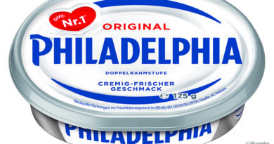 Mondelez switches packaging from Philadelphia to recycled plastic