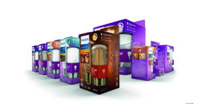 Leuchtmittelhersteller Signify verpackt ohne Plastik