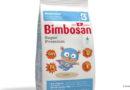 Bimbosan mit Babynahrung-Verpackung aus nachwachsenden Rohstoffen
