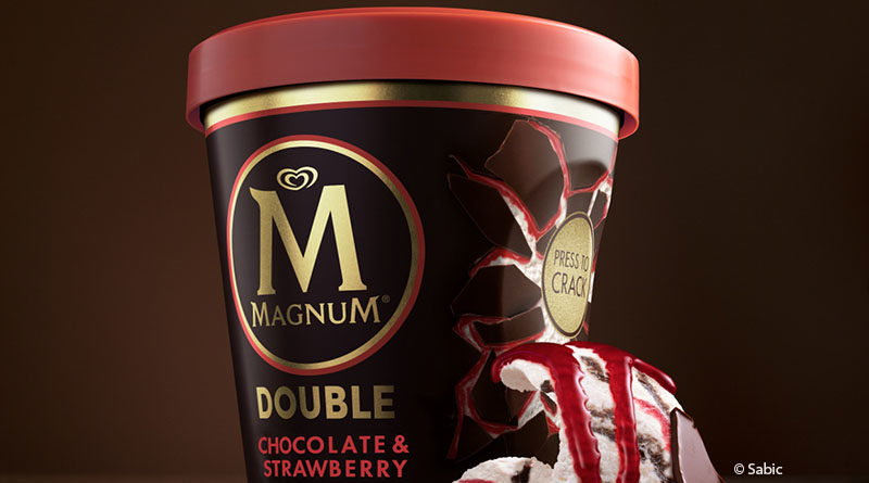Unilever relies on recyclable packaging for Magnum
